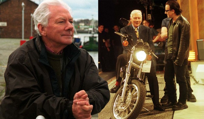 Touching Tribute To The Great Gay Byrne
